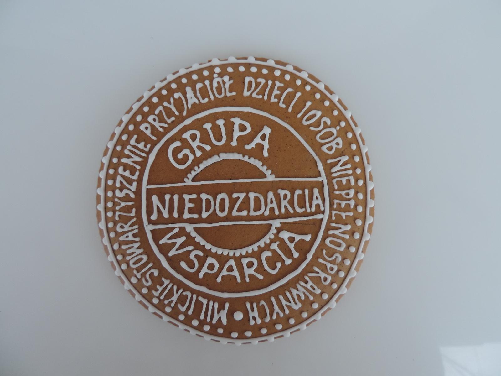 Medal z piernika na zamówienie