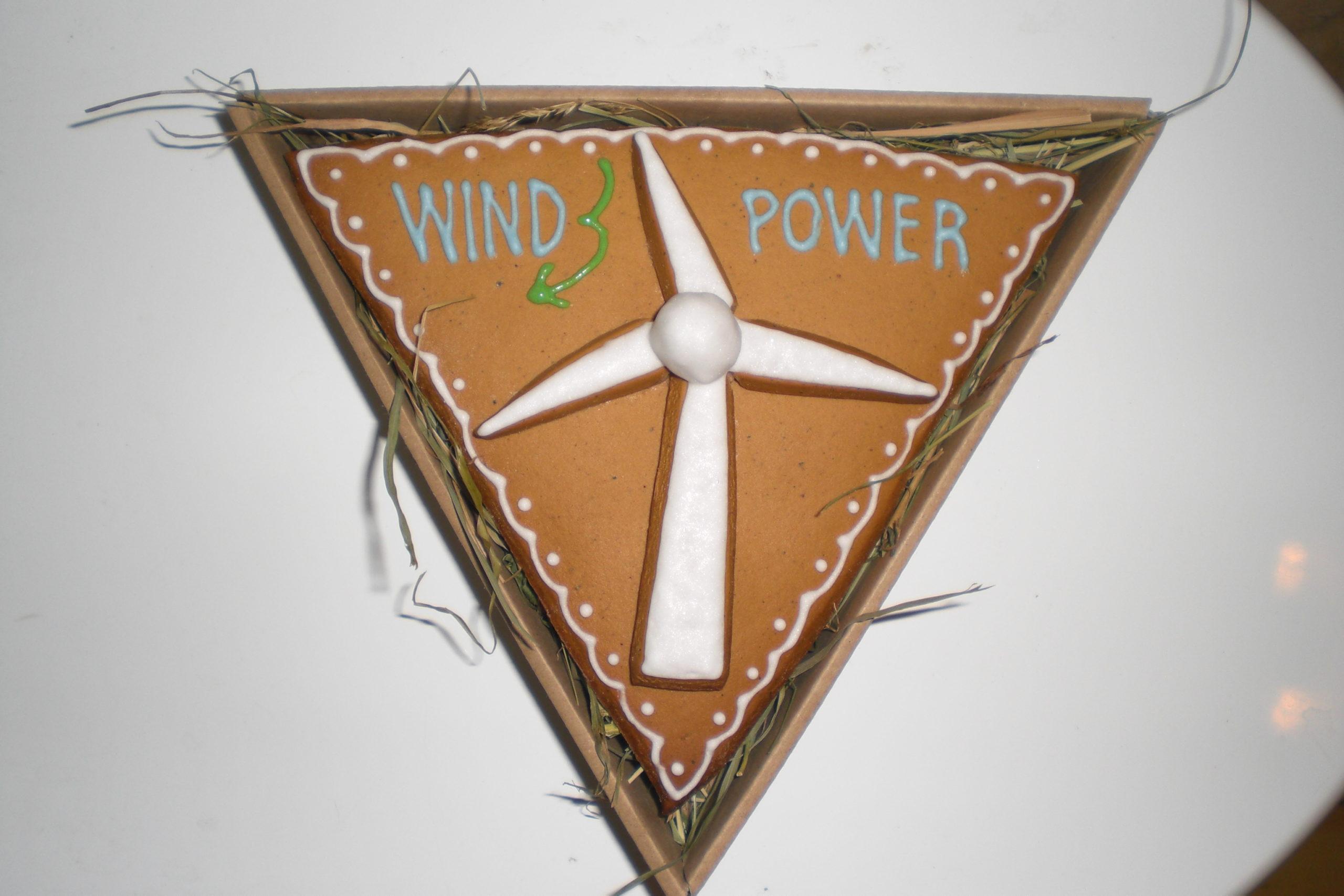 Wind power z piernika