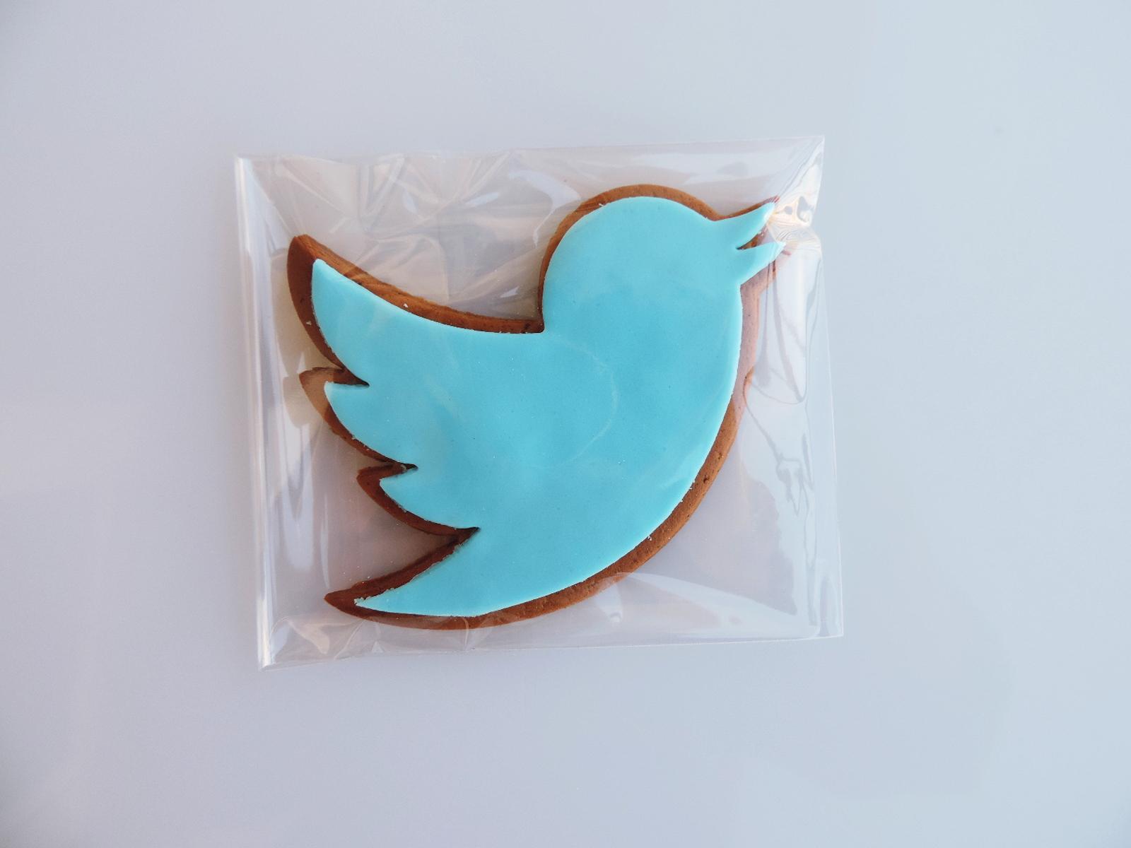 Ptaszek-twitter z piernika